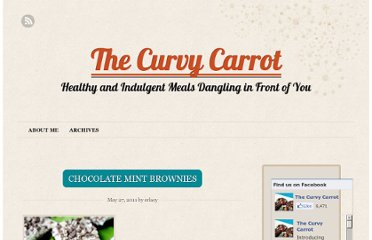 http://www.thecurvycarrot.com/2011/05/27/chocolate-mint-brownies/