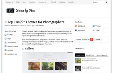 http://www.sevenbyfive.net/apps/6-top-tumblr-themes-for-photographers/