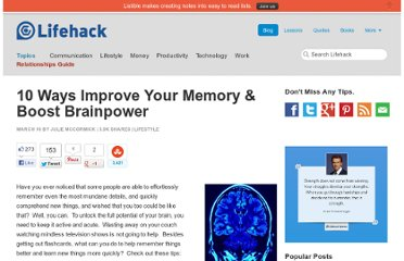 http://www.lifehack.org/articles/lifestyle/10-ways-improve-your-memory-boost-brainpower.html