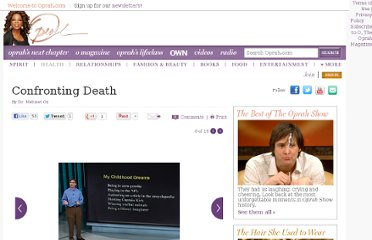 http://www.oprah.com/health/Dr-Oz-Talks-About-Confronting-Death/6