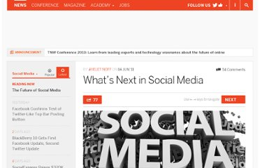 http://thenextweb.com/socialmedia/2011/06/14/whats-next-in-social-media/
