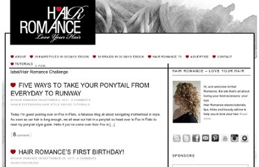 http://www.hairromance.com/search/label/Hair%20Romance%20Challenge
