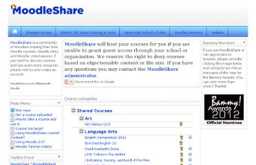 http://courses.moodleshare.com/index.php?