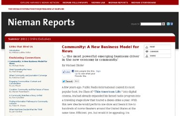 http://www.nieman.harvard.edu/reports/article/102622/Community-A-New-Business-Model-for-News.aspx