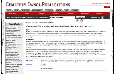 http://www.cemeterydance.com/extras/category/guidelines/