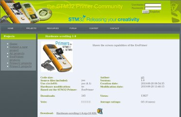http://www.stm32circle.com/projects/project.php?id=130
