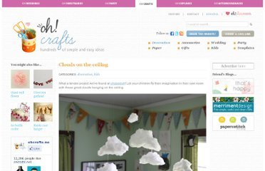 http://www.ohcrafts.net/decoration-clouds-on-the-ceiling.php