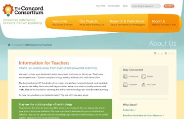 http://www.concord.org/about/information-for-teachers