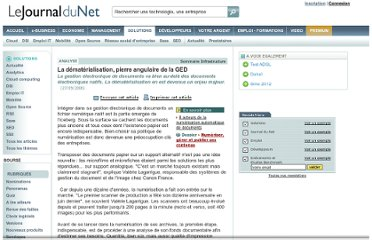 http://www.journaldunet.com/solutions/0609/060927-analyse-numerisation.shtml