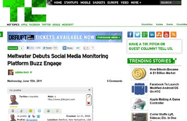 http://techcrunch.com/2011/06/15/meltwater-debuts-social-media-monitoring-platform-buzz-engage/