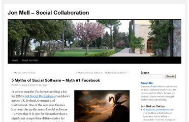 http://jonmell.co.uk/5-myths-of-social-software-myth-1-facebook/