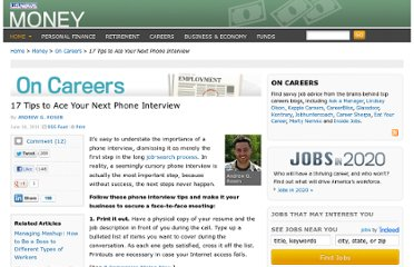 http://money.usnews.com/money/blogs/outside-voices-careers/2011/06/14/17-tips-to-ace-your-next-phone-interview