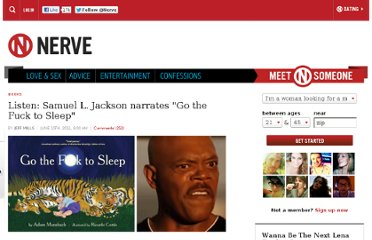 http://www.nerve.com/news/books/listen-samuel-l-jackson-narrates-go-the-fuck-to-sleep