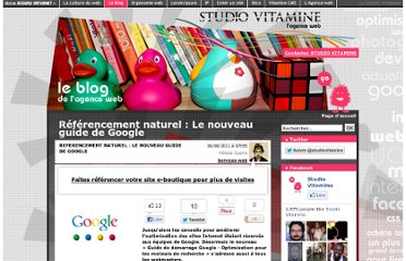 http://blog.studiovitamine.com/actualite,107,fr/referencement-naturel-le-nouveau-guide-de-google,304,fr.html?id=794