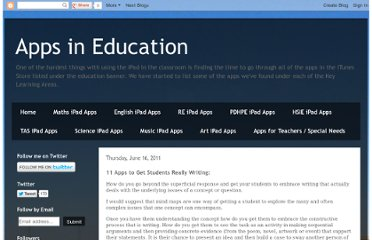 http://appsineducation.blogspot.com/2011/06/apps-for-getting-students-really.html