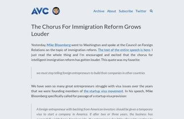 http://www.avc.com/a_vc/2011/06/the-chorus-for-immigration-reform-grows-louder.html