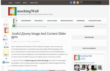 http://smashingwall.com/tools/jquery-sliders/