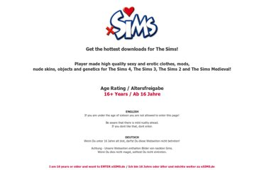 Games supported are The Sims 2, The Sims 3 and in the future The Sims ...