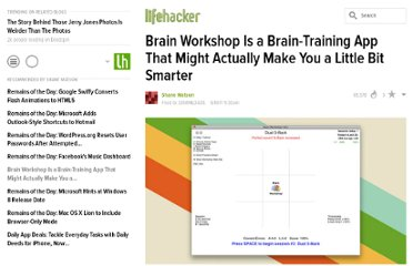 http://lifehacker.com/5811960/brain-workshop-is-a-brain+training-app-that-might-actually-make-you-a-little-bit-smarter