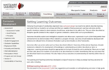 http://www.mq.edu.au/ltc/about_lt/setting_outcomes.htm