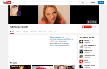 http://www.youtube.com/user/kleinesmariechen