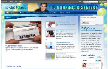 http://www.abc.net.au/science/surfingscientist/tricks/default.htm