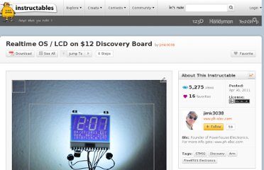 http://www.instructables.com/id/Realtime-OS-LCD-on-12-Discovery-Board/