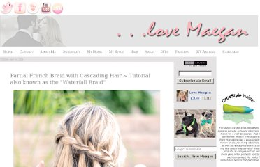 http://www.lovemaegan.com/2011/05/partial-french-braid-cascading-hair.html