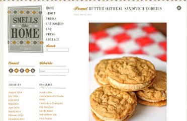 http://smells-like-home.com/2011/06/peanut-butter-oatmeal-sandwich-cookies/