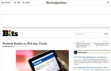 http://bits.blogs.nytimes.com/2011/06/16/facebook-readies-an-ipad-app-finally/