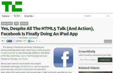 http://techcrunch.com/2011/06/16/ipad-facebook/