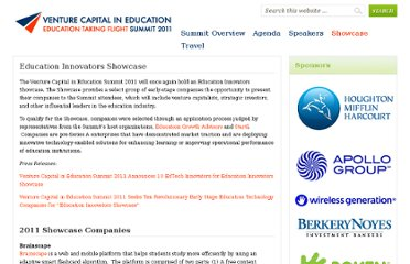 http://www.venturecapitalineducation.com/education-innovators-showcase/