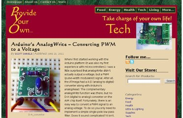 http://provideyourown.com/2011/analogwrite-convert-pwm-to-voltage/