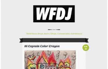 http://worldfamousdesignjunkies.com/djunk/hi-captain-color-crayon/