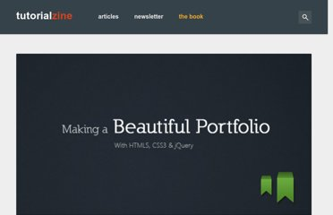 http://tutorialzine.com/2011/06/beautiful-portfolio-html5-jquery/