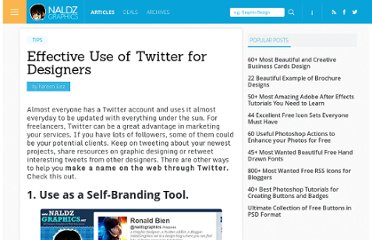 http://naldzgraphics.net/tips/effective-use-of-twitter-for-designers/