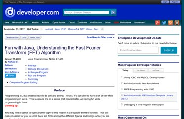 http://www.developer.com/java/other/article.php/3457251/Fun-with-Java-Understanding-the-Fast-Fourier-Transform-FFT-Algorithm.htm