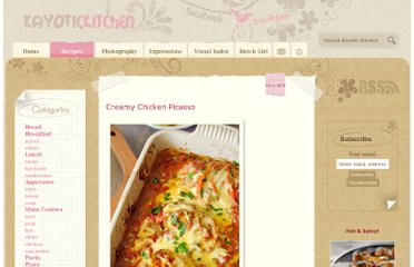 http://www.kayotic.nl/blog/creamy-chicken-picasso