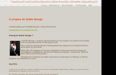 http://www.sablerouge.be/sablerouge.htm
