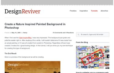 http://designreviver.com/tutorials/create-a-nature-inspired-painted-background-in-photoshop/