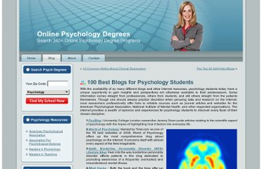http://onlinepsychologydegrees.org/100-best-blogs-for-psychology-students/