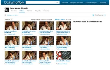 http://www.dailymotion.com/user/Comelade/1