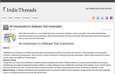 http://www.indicthreads.com/1329/an-introduction-to-software-test-automation/