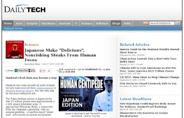 http://www.dailytech.com/Japanese+Make+Delicious+Nourishing+Steaks+From+Human+Feces/article21932.htm