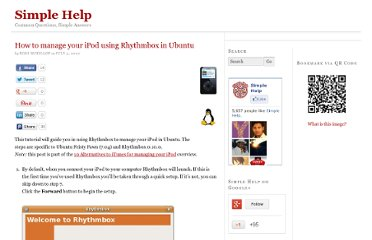 http://www.simplehelp.net/2007/07/03/how-to-manage-your-ipod-using-rhythmbox-in-ubuntu/