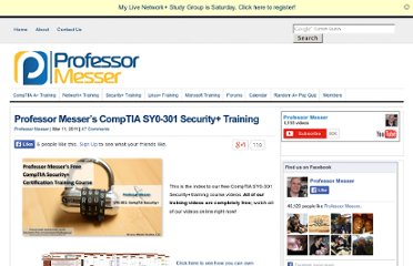 https://www.professormesser.com/free-comptia-security-training/security-plus-videos/