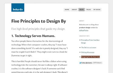 http://bokardo.com/archives/five-principles-to-design-by/