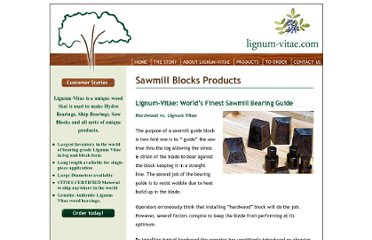 http://www.lignum-vitae.com/Products_Sawmill_blocks.html