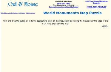 http://www.yourchildlearns.com/mappuzzle/world-monuments-puzzle.html