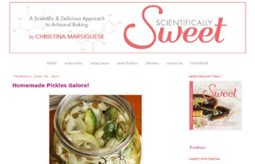 http://www.christinamarsigliese.com/2011/06/homemade-pickles-galore.html